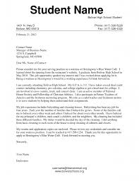44 part time cover letters for students cover letter for a part