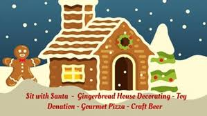 Gingerbread House Decoration Gingerbread House Decorating Party Spindletap Brewery