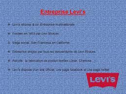 siege social levis etude de gestion organisation levi s ppt télécharger