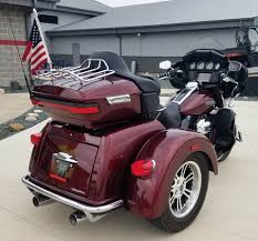 Harley Davidson 174 Seat Cover Used 2015 Harley Davidson Tri Glide Ultra Trikes In Ottumwa Ia