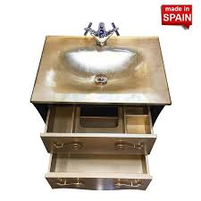 24 Inch Bathroom Vanities by 24 In Modern Bathroom Vanity Estrella Brown Socimobel