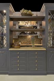Wood Mode Cabinet Reviews by Best 25 Glass Front Cabinets Ideas On Pinterest Wallpaper Of