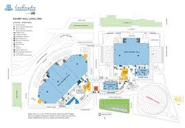 United Center Floor Plan by Los Angeles Convention Center Meetl A Discover Los Angeles