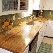 How To Install Butcher Block Countertops by Furniture Diy Wide Plank Butcher Block Countertops With Cabinet