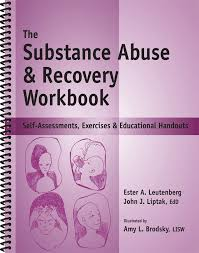 the substance abuse recovery workbook substance abuse worksheets