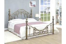 antique brass bed frame uk king size metal food facts info