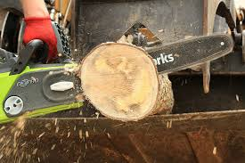 how does a chainsaw oiler work