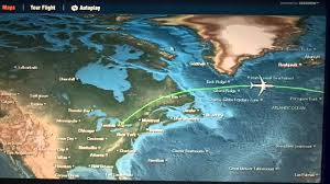 Virgin Atlantic Route Map by Toronto To London Lhr Flight Takeoff In Flight Route Map