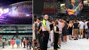 coldplay personnel coldplay allianz stadium australian concert and entertainment