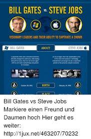 Bill Gates And Steve Jobs Meme - steve jobs vs bill gates o 68000 by ben meme center lektire us