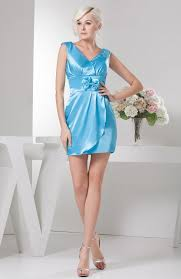 turquoise summer cocktail dress short fall plus size allure for