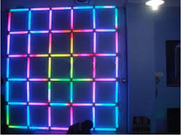 multi colored strobe light china led digital tube rgb pixels multi color changeable strobe