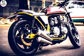 street tracker honda cb750f shows more vietnamese custom glory