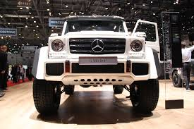 mercedes g500 pickup geneva 2015 mercedes g500 4x4 squared arrives the truth about cars