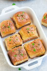 ham and cheese sliders oven baked made sweeter
