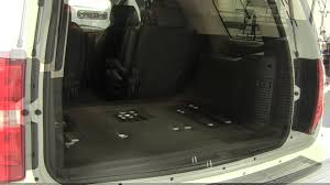 gmc yukon trunk space review of the weathertech cargo floor liner on a 2013 chevrolet
