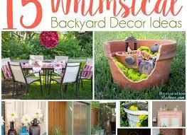 Best 25 Backyard Decorations Ideas by Best 25 Backyard Decorations Ideas On Pinterest Diy Yard Decor