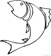 big fish printable template go free craft underwater kids scene