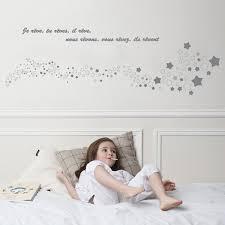 stickers mouton chambre bébé sticker tête de lit rêve moderne par for