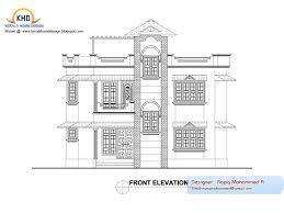 architectural house plans elevations u2013 house design ideas