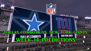 New York Giants Flag Dallas Cowboys Vs New York Giants Predictions Nfl Week 14
