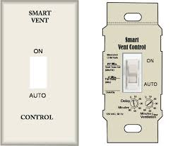 thermostat controlled exhaust fan continuously operating ventilation and exhaust fans building