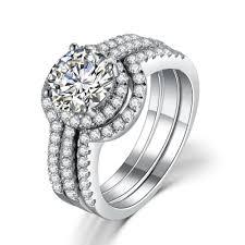 cheap diamond engagement rings online get cheap diamond set wedding rings aliexpress com