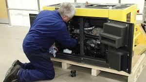 oil change for kipor diesel generators youtube