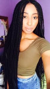 nubian hair long single plaits with shaved hair on sides 65 box braids hairstyles for black women