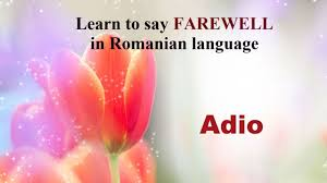 Romanian Love Quotes by How Do You Say Farewell In Romanian Language Youtube