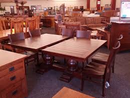 traditional rustic cherry dining set woodsmiths furniture