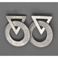 metal earings suzanne linquist circle metals earrings 7e60 artistic artisan