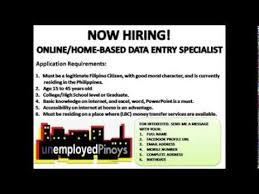 Home Based Design Jobs Online Work Homebase Data Entry Job Youtube