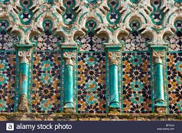 islamische architektur islamische architektur auf el djedid moschee in fes marokko