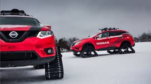 nissan christmas nissan outs three winter warrior concepts for chicago