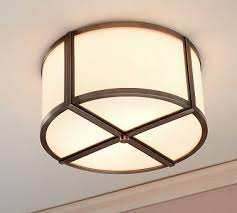 Pottery Barn Ceiling Light 21 Best Lighting Flushmounts Ceiling Fans Images On