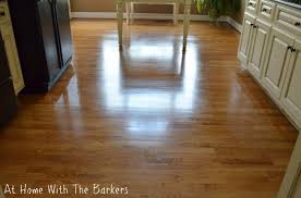 Hardwood Floor Shine How To Get Your Floors To Shine At Home With The Barkers
