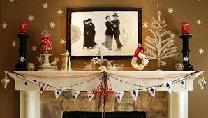 christmas mantel a whole bunch of christmas mantel decorating ideas style estate