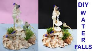 Waterfalls Decoration Home How To Make Waterfall Showpiece Diy Craft Ideas Home