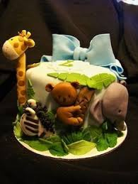 fondant jungle baby shower cake toppers jungle cake decorations