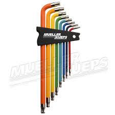 mueller kueps torx color coded kit 100 mueller kueps lp