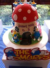 smurfs birthday party ideas photo 4 of 4 catch my party