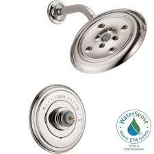 Shower Faucet Trim Kit Delta Tesla H2okinetic Single Handle Shower Faucet Trim Kit In