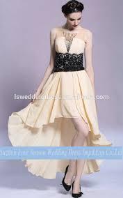 dghl0037 chiffon high low prom dress off shoulder elegant