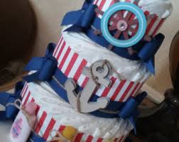 items similar to bowtie diaper cake rustic boy diaper cake burlap