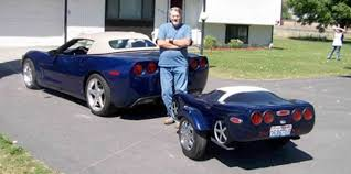 cars that look like corvettes 16 trailers that look like miniature cars twistedsifter