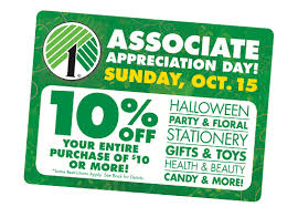 10 your purchase of 10 or more at dollar tree coupon