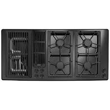 designer line modular gas downdraft cooktop 45