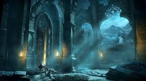 1920x1080 magic castle fantasy world abandoned temple hd wallpaper