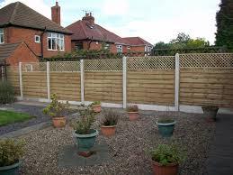 flat top trellis bentinck fencing